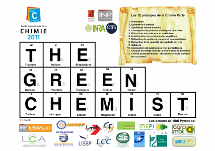 Calendrier The Green Chemist