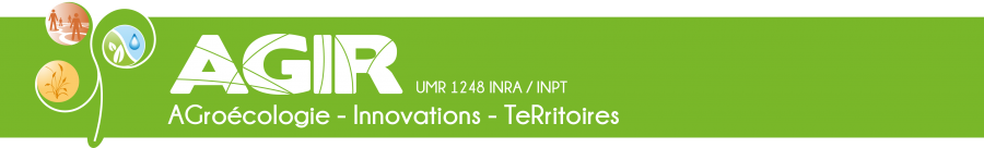 Bienvenue sur le site de l'UMR AGIR