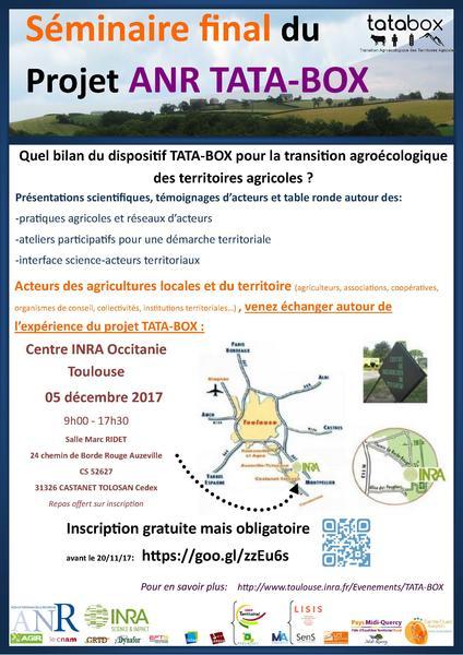 Invitation seminaire TATABOX